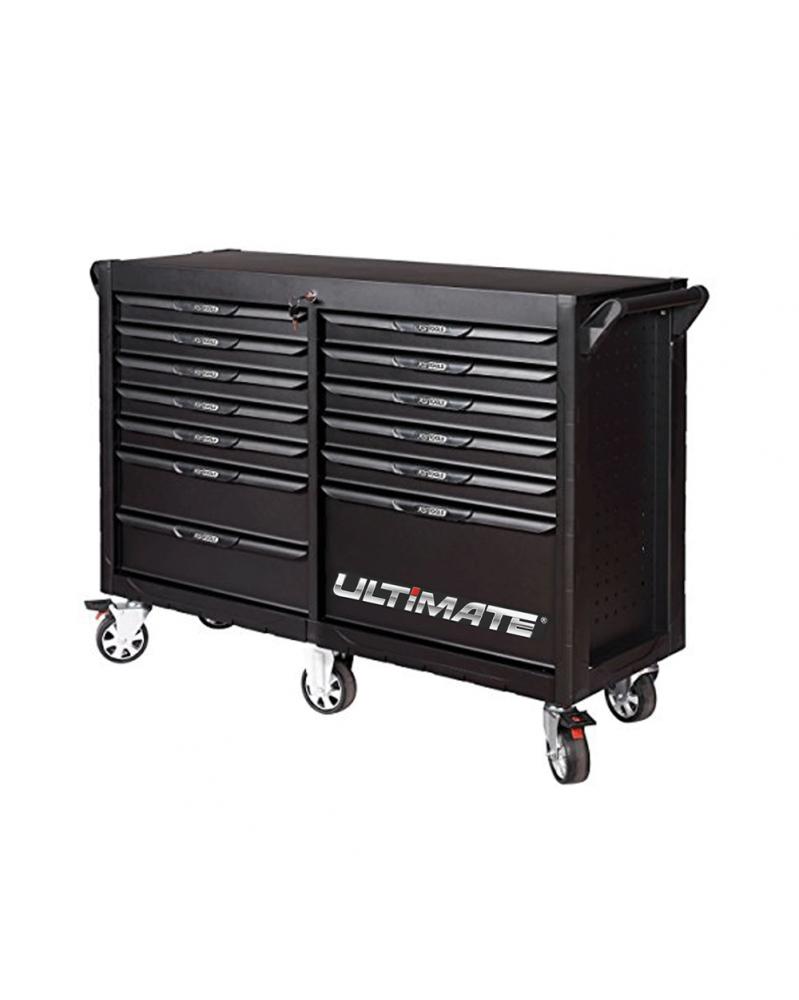 "Servante d'atelier vide, 13 tiroirs ""Ultimate"" (816.0013) KS TOOLS | Mongrossisteauto.com"