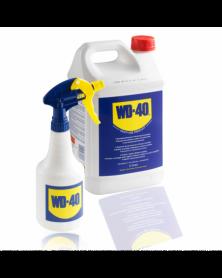 Bidon WD40, 5 litres + pulvérisateur WD-40   Mongrossisteauto.com
