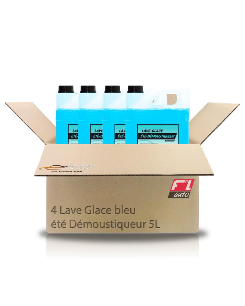 Lot de 4 lave glace été, démoustiqueur 5L FL'Auto | Mongrossisteauto.com