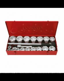 Coffret de douilles 22 pièces (911.0822) - KS TOOLS