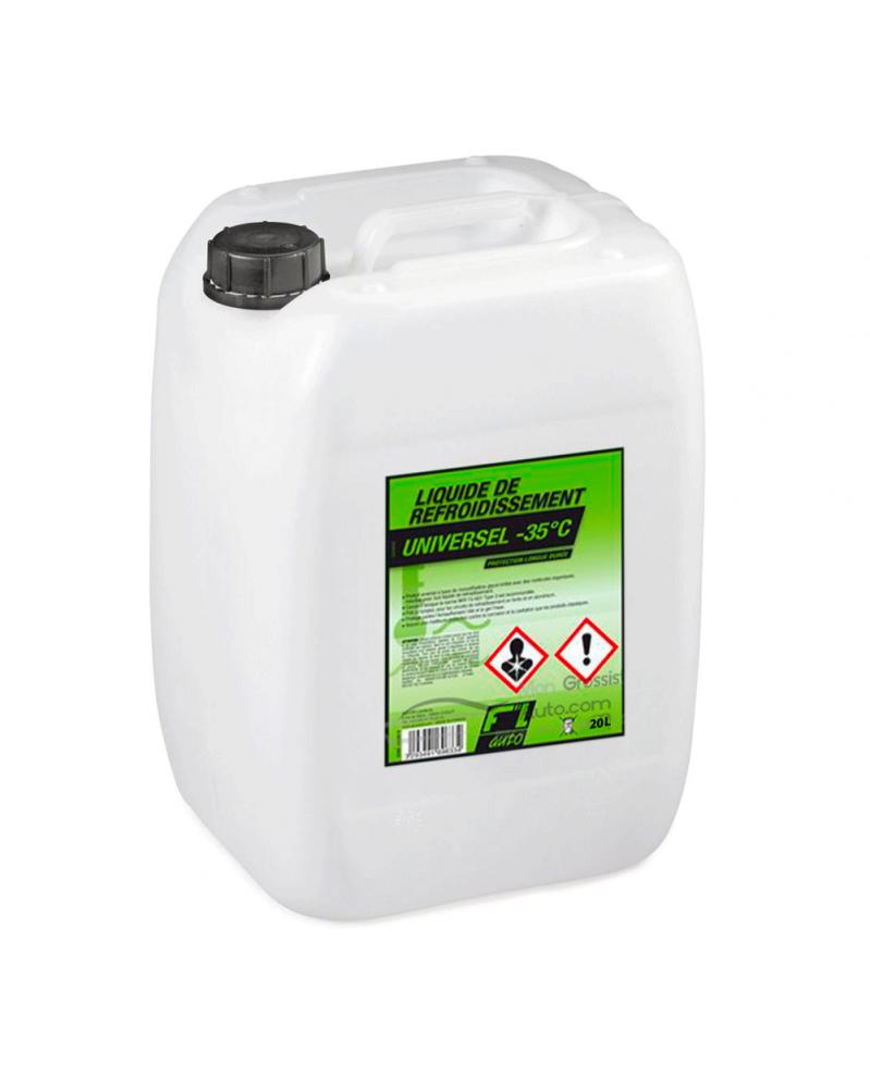 Liquide de refroidissement universel vert - 20 L - FL'AUTO | Mongrossisteauto.com