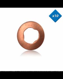 Joint cuivre injecteur - 7,9x15 - classe c, smart, x10 - (6110170060) - 3RG | Mongrossisteauto.com