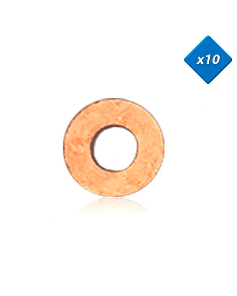 Joint cuivre injecteur, 7x16 - x10 - OE:198157 - 3RG | Mongrossisteauto.com