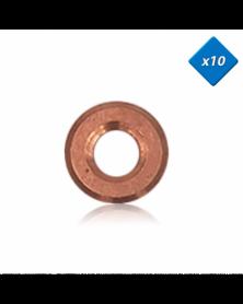 Joint cuivre injecteur, 7,65 x 17 - x10 - OE: 1607852680 - 3RG | Mongrossisteauto.com