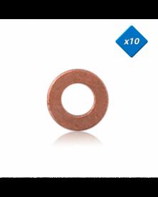 Joint cuivre injecteur, 8,3x16 - x10 - OE: 7701058113 - 3RG   Mongrossisteauto.com