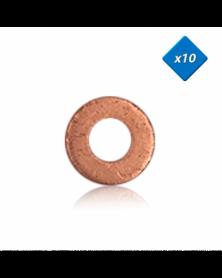 Joints cuivre injecteur 7x15 - x10 - OE:8200014894 - 3RG | Mongrossisteauto.com