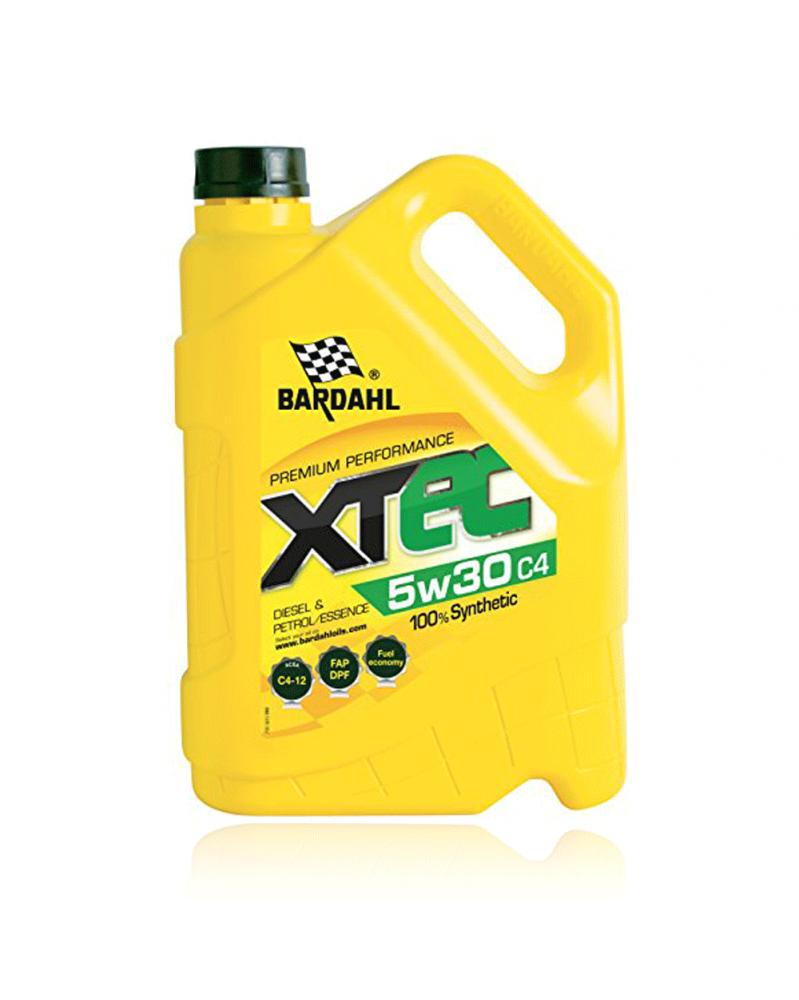 Huile 5W30, XTEC 100% synthèse C4 5L - BARDAHL   Mongrossisteauto.com
