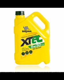 Huile moteur 5W30 - XTEC 100% synthèse C3 5L - Bardahl | Mongrossisteauto.com