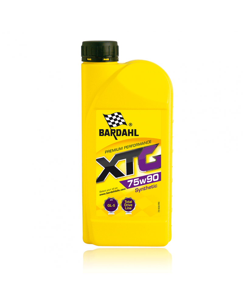 Huile 75W90 - XTG boites et ponts EP Synthèse GL-5 1L - Bardahl | Mongrossisteauto.com