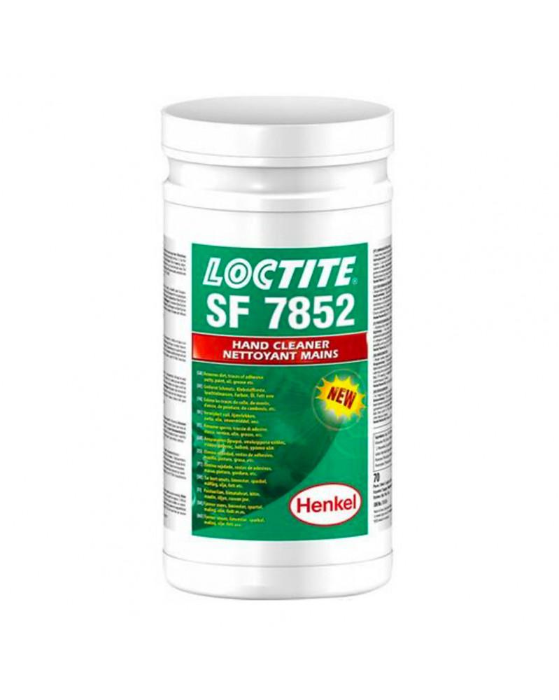 Loctite SF 7852, Lingettes nettoyante pour mains | Mongrossisteauto.com