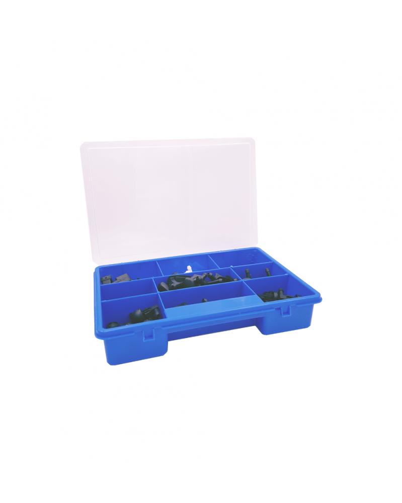 Boîte de gicleur lave vitres, coffret 90 pièces - 3RG | Mongrossisteauto.com