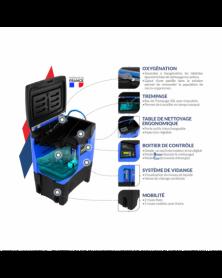 TETRAX CARBON X² Support Magnétique téléphone