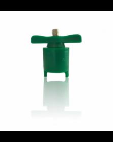 Robinet de batterie coupe circuit cosses vert - type arelco