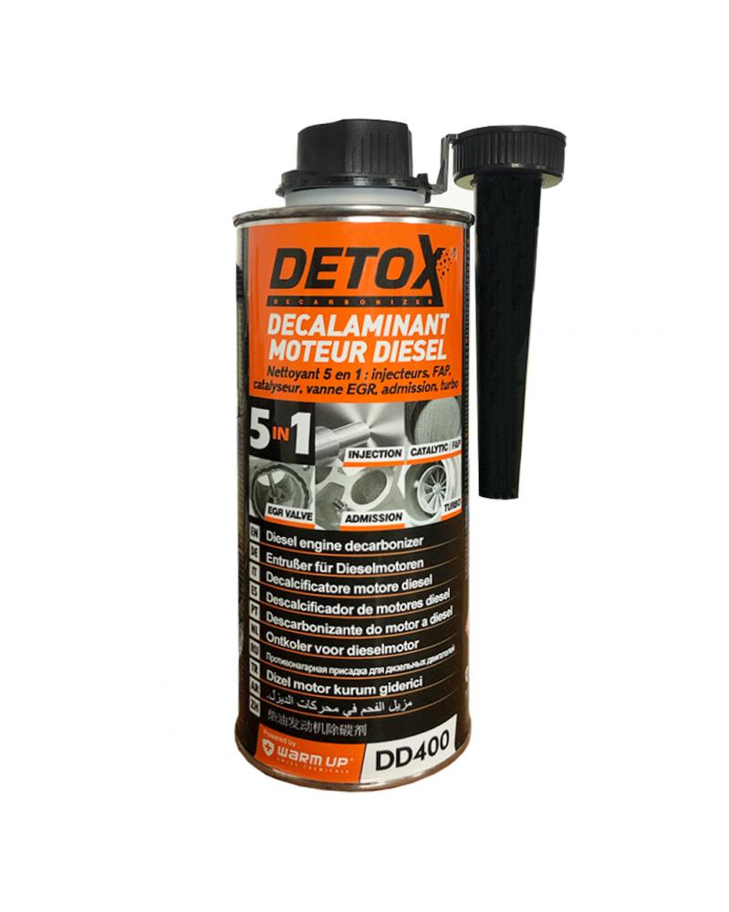 Décalaminant moteur diesel, Detox 5en1, 400ml - WarmUp | Mongrossisteauto.com