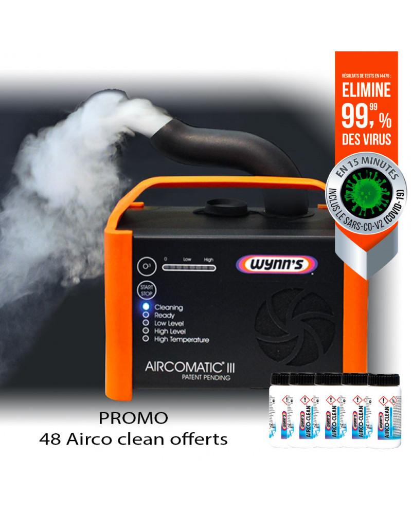 Pack Aircomatic III + 48 Aircoclean Offert - Wynn's | Mongrossisteauto.com