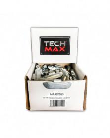 Masses jantes, universelle & acier X 100 - TechMax