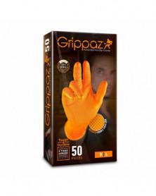 Gants nitrile, compatible écran tactile, taille: L X50 - Grippaz