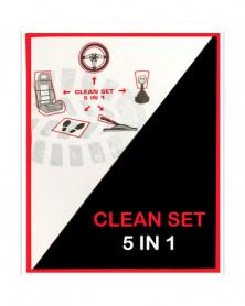 Kit protection voiture jetable, 5 en 1 - Dialann