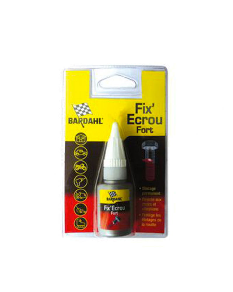 Fix ' Ecrou fort frein filet rouge 5ml - Bardahl| Mongrossisteauto.com