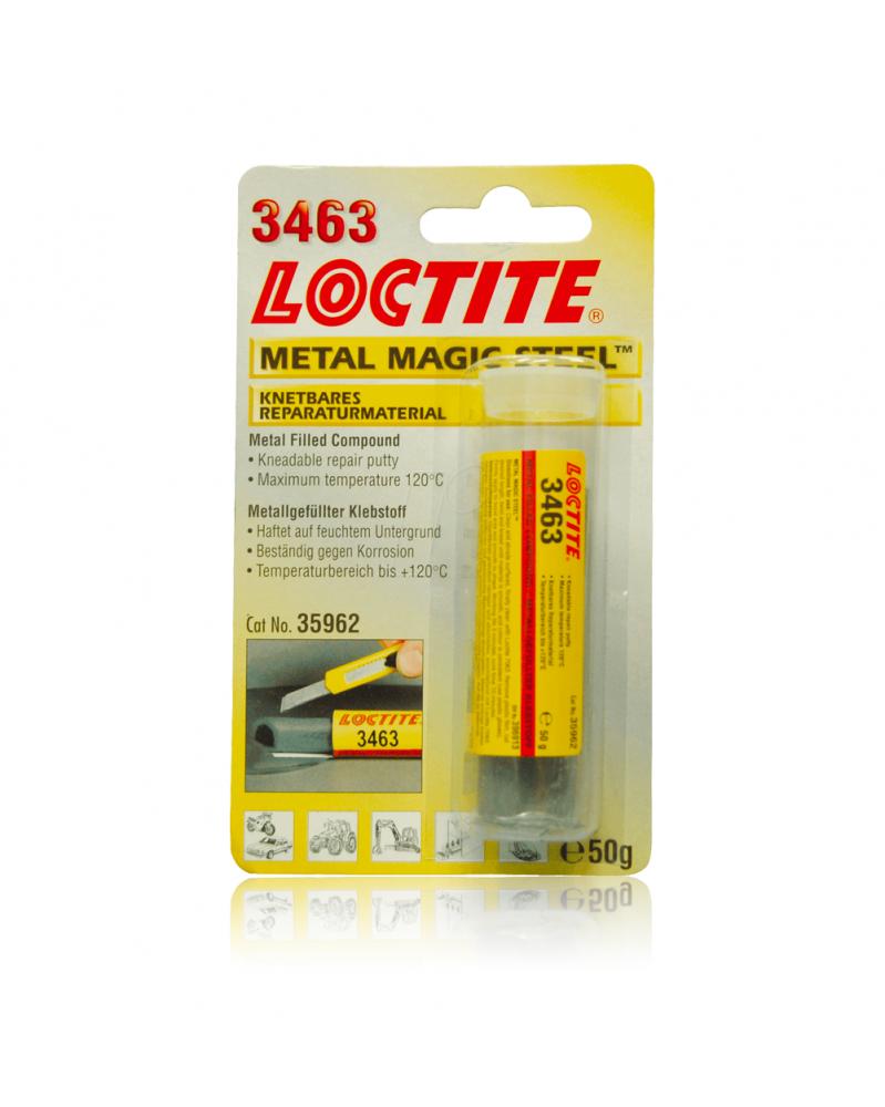 LOCTITE EA 3463 metal magic steel résine époxy bicomposant | Mongrossisteauto.com