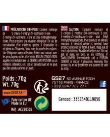 Étiquette DEOCAR POP Fruits Tropicaux - GS27