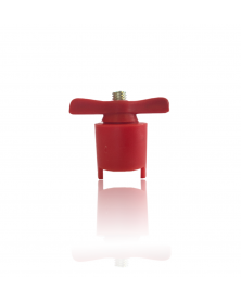 Robinet de batterie coupe circuit cosses rouge + type arelco