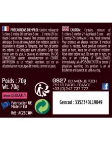 Conditions d'utilisation DEOCAR POP fraise - GS27   Mongrossisteauto.com