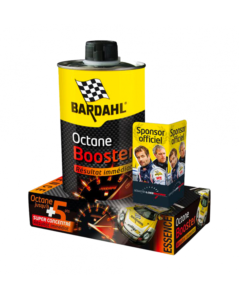 Octane Booster gamme professionnel 1L - Bardahl | mongrossisteauto.com