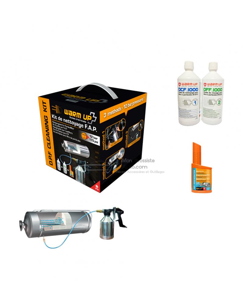 Kit de nettoyage pour filtre à particules (F.A.P) Nettoyant Régénérant FAP   mongrossisteauto.com