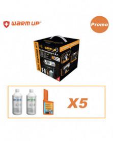 PROMO Kit de nettoyage pour filtre à particules + 5 recharges Warm Up