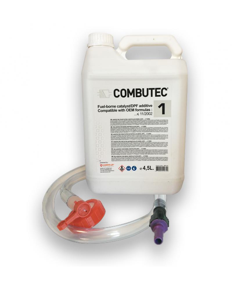 Additif FAP Cérine DPX 42 blanc kit de remplissage cérine Warm Up Combutec 1 4,5 L | mongrossisteauto.com