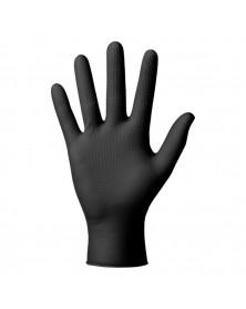 Gant nitrile, noir, taille L, x50 - Mercator
