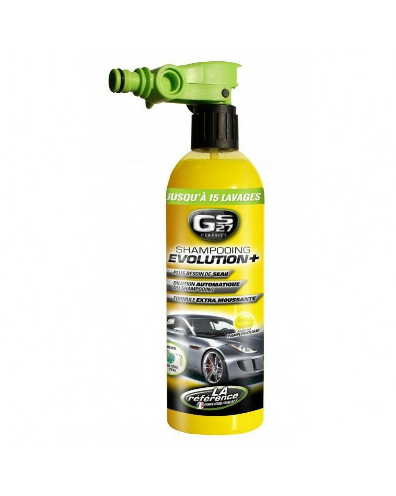 Shampooing Evolution + Jusqu'à 15 Lavage 750 ml - GS27 | mongrossisteauto.com