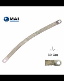 Tresse de Masse 30 cm Marque MAI - Tresse de masse - Mon Grossiste Auto
