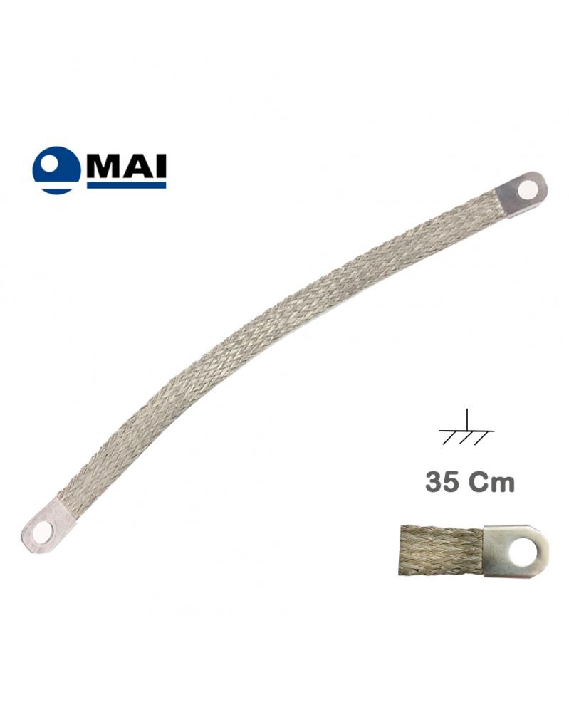 Tresse de Masse 35 cm Marque MAI - Tresse de masse - Mon Grossiste Auto