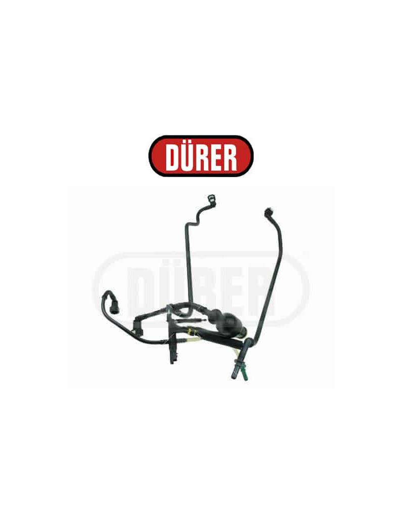 Kit poire d'amorcage avec tuyauterie de carburant 1574S9 Durer 1.4 HDI : CITROËN C2, C3 / PEUGEOT 1007 - Pompettes et Poires