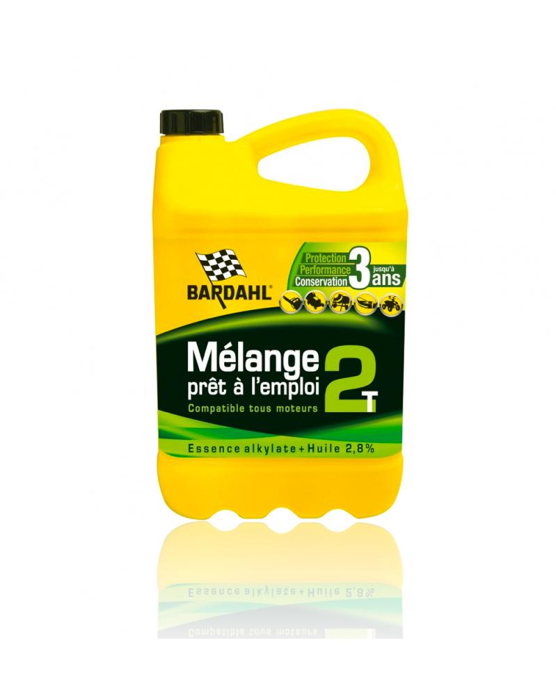 Mélange essence 2 temps 5L pret à l'emploi - Bardahl| mongrossisteauto.com