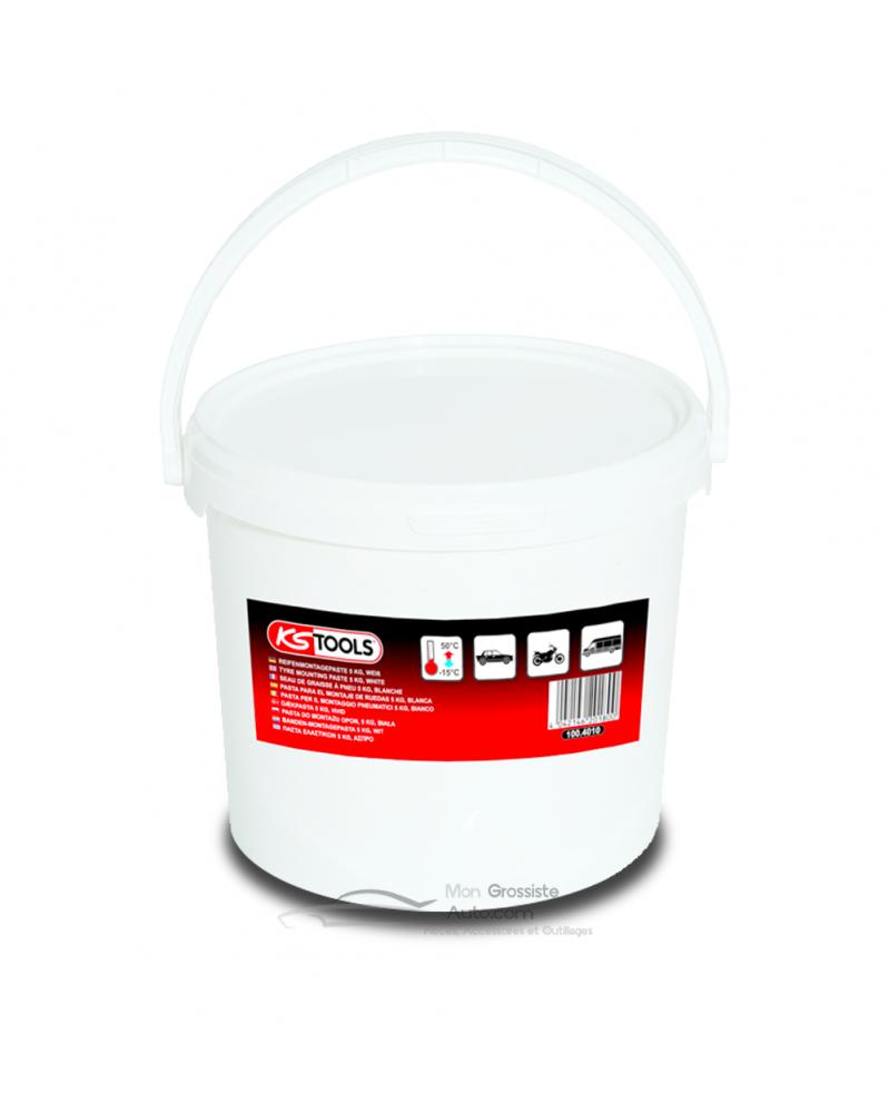 Graisse à pneu blanche 5Kg (100.4010) KS Tools | mongrossisteauto.com