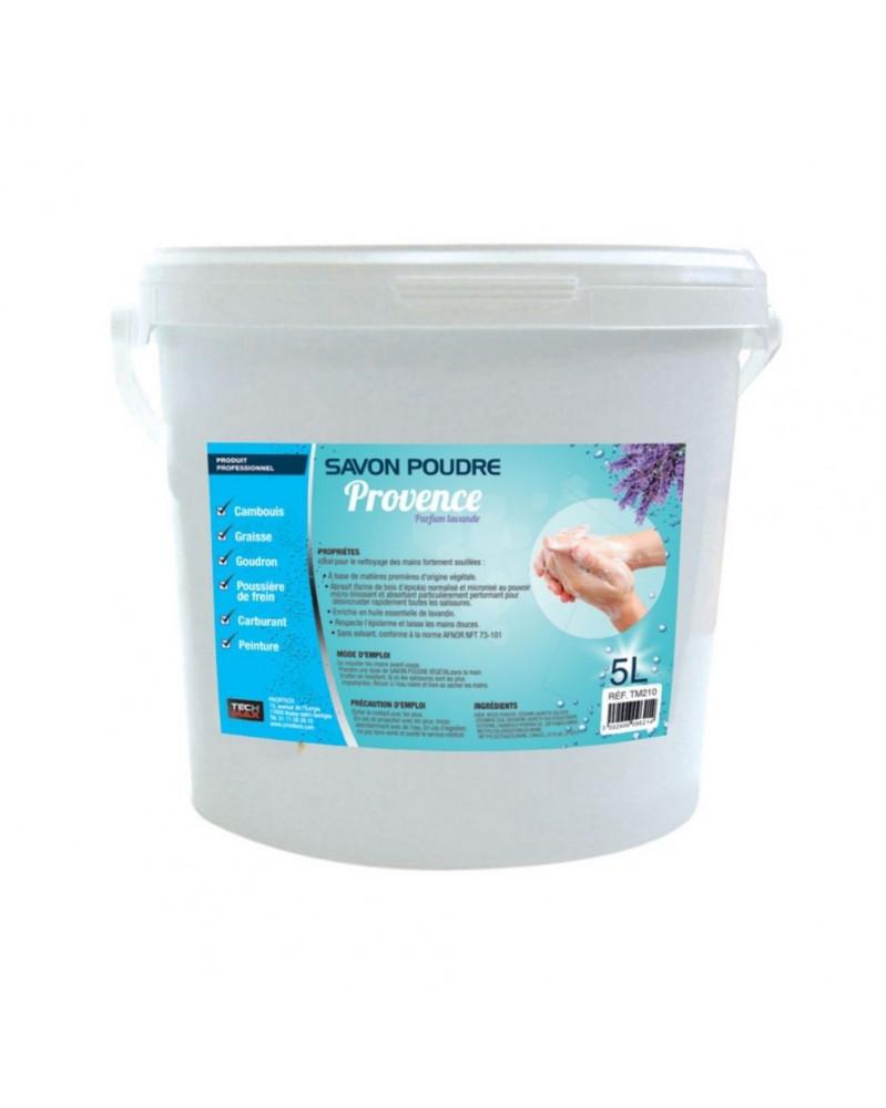 savon d'atelier, savon en poudre- seau 5L- Proxitech | Mongrossisteauto.com