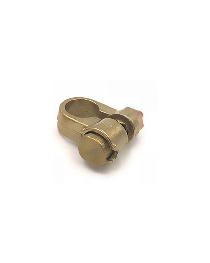 Cosse de batterie voiture négative diamètre 10 simple serrage section 25-35 - Cosses de batterie - Mon Grossiste Auto