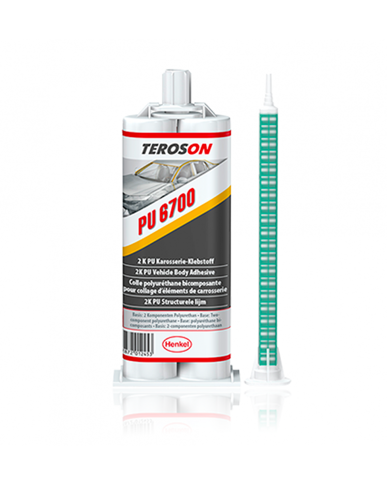 Teroson PU 6700 colle polyuréthane bicomposante carrosserie 50 ml   Mongrossisteauto