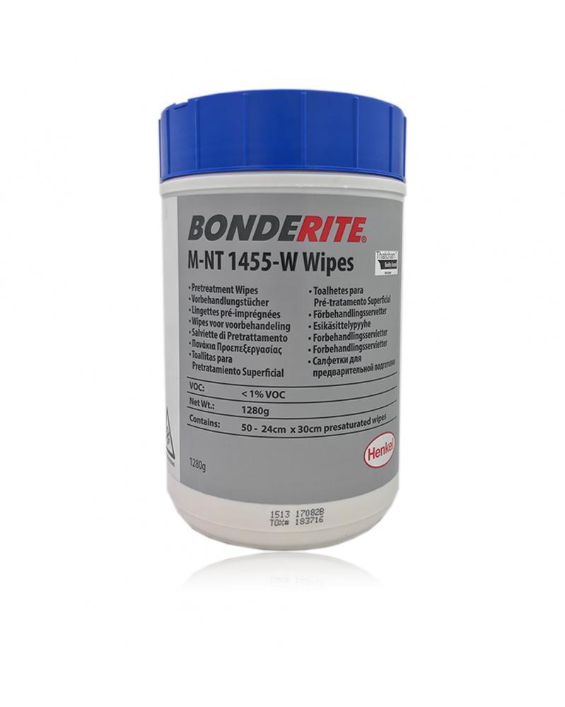 Henkel Bonderite M-NT 1455-W Wipes Traitement des métaux 50 lingettes - Entretien et réparation carrosserie - Mon Grossiste Au