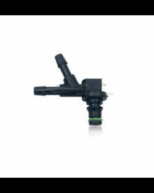 Connecteur de retour injecteur 2 voies PSA 1574.Q1 Siemens - Kit rampe de retour injecteurs - Mon Grossiste Auto
