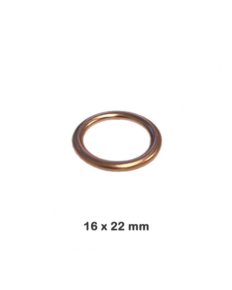 Joint de bouchon de vidange 16 x 22 mm | mongrossisteauto.com