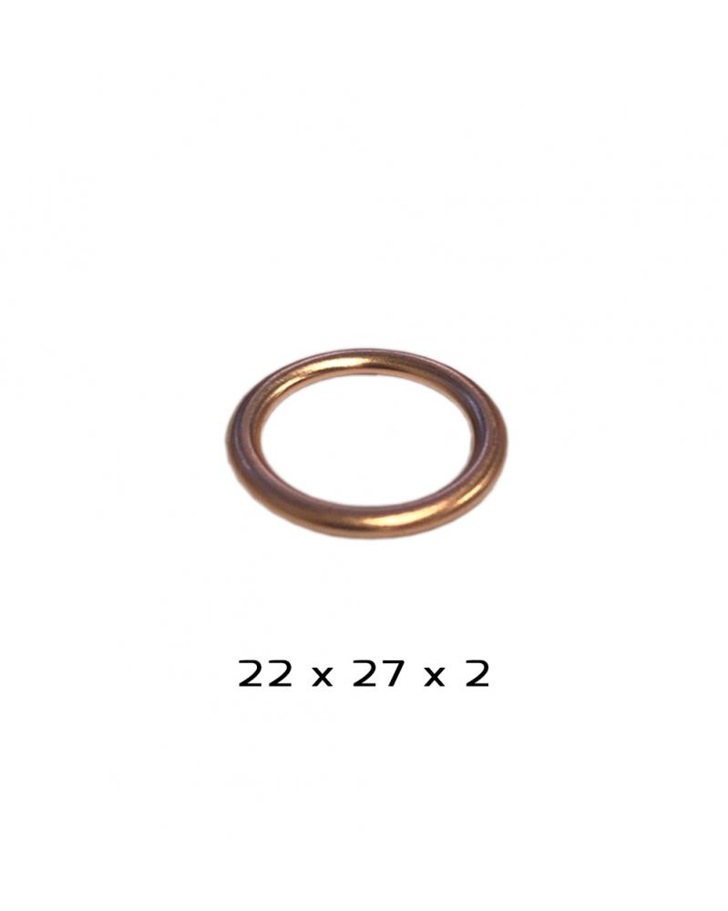Joint de bouchon de vidange - 22x27x2mm - 3RG | Mongrossisteauto.com