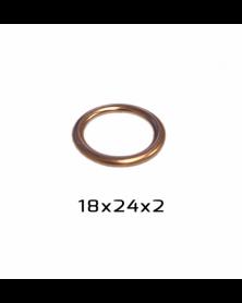 Joint de bouchon de vidange 18 x 24 x 2 mm - RKG | Mongrossisteauto.com