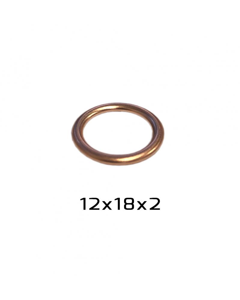 Joint de vidange 12 x 18 x 2 mm - RKG | Mongrossisteauto.com