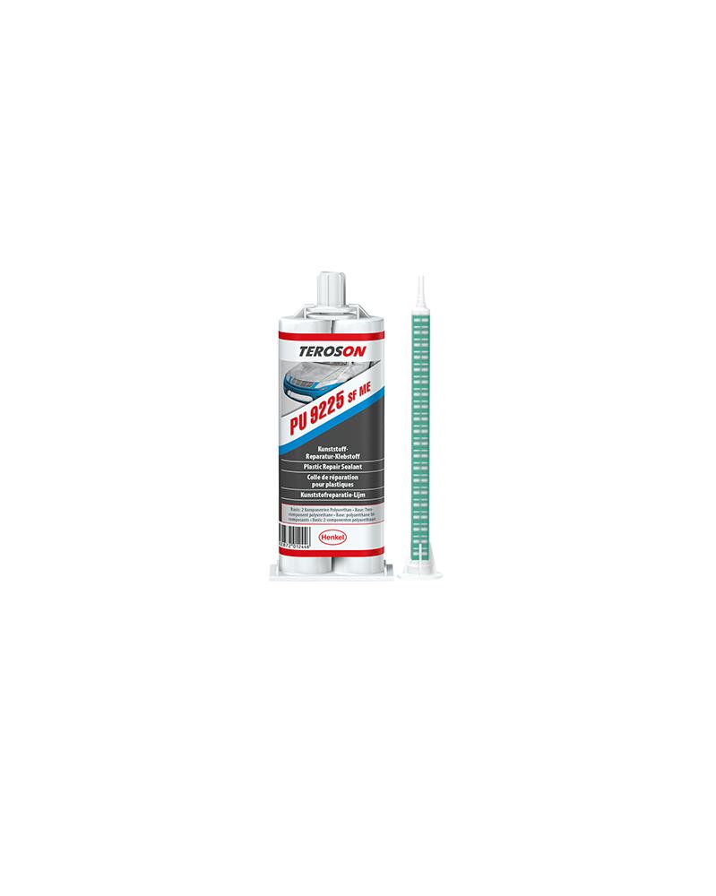 Colle réparation plastique Teroson PU 9225 SF ME 50 ml - Colles Adhésifs Epoxy - Mon Grossiste Auto