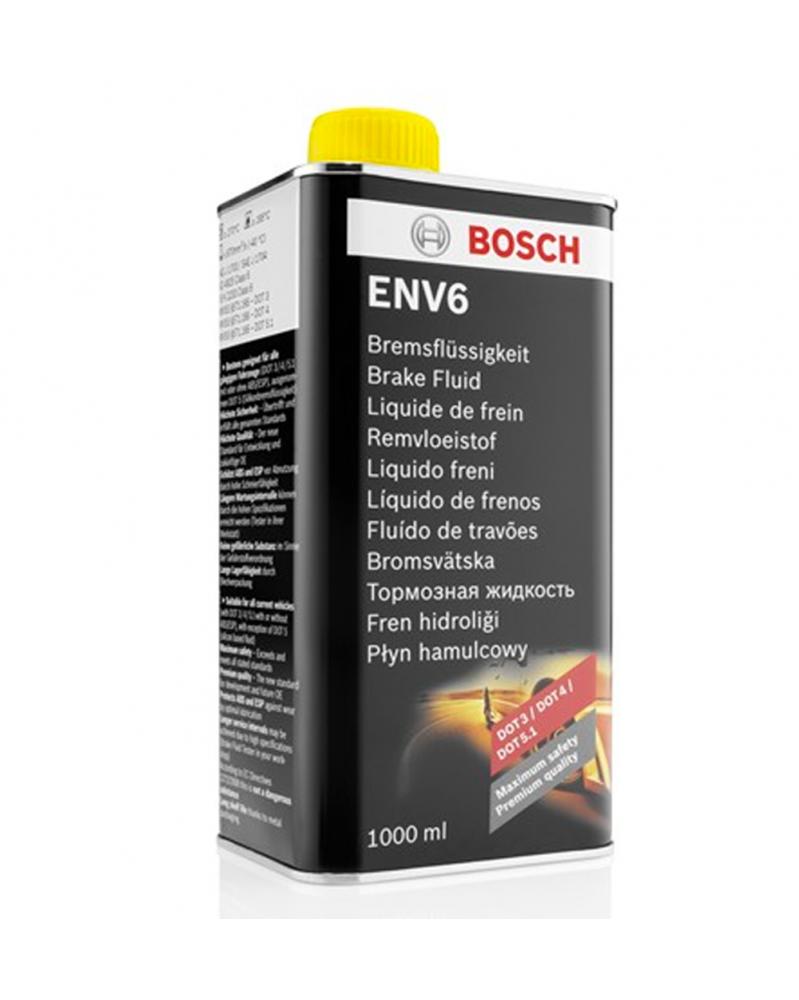 Liquide de frein Universel ENV6 Bosch 1L | Mongrossisteauto.com