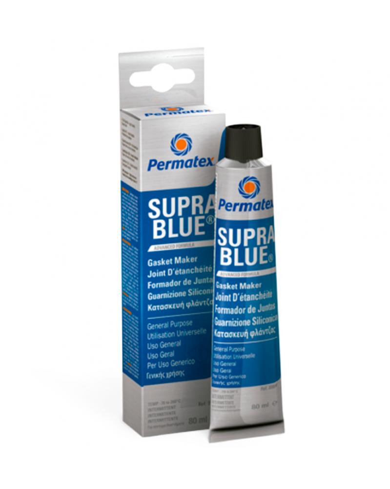Permatex joint Bleu d'étanchéité 80ml Suppra Blue - Étanchéité et Joints - Mon Grossiste Auto